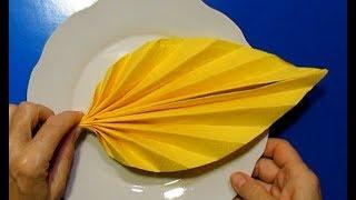 Украшаем пасхальный стол - Оригами Из Бумаги на Пасху DIY Идеи Украшения Стола на Пасху из Салфеток