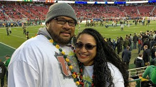 Gabriel and Arlene Sewell 'win regardless' with sons playing for Utah and Oregon