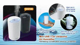 Portable Air Humidifier - Mini Travel air purifier & Freshener Thumbnail