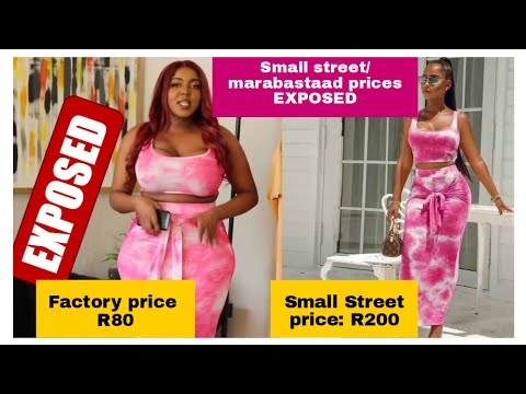 EXPOSING small street and marabastaad prices | Plus size try on haul| South African YouTuber