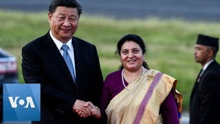 Chinese President Xi Jinping Arrives in Nepal for State Visit