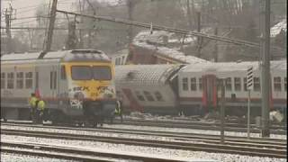 25 dead in Belgian commuter train crash