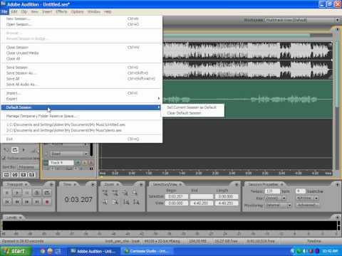 Hướng dẫn Xuất File Trước Khi Mix - NinhHoa.Org