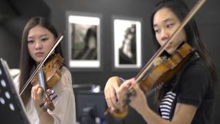 Canon in D violin duet - Tiffany