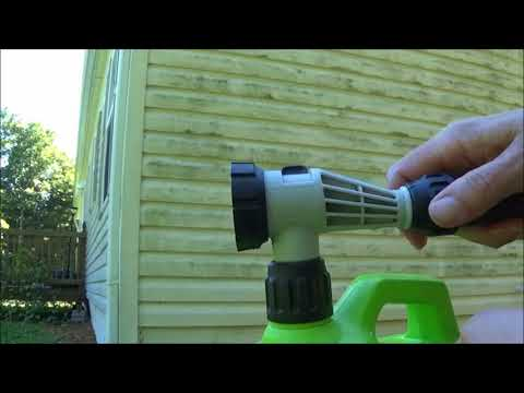 Cleaning Vinyl Siding without Scrubbing - Product review