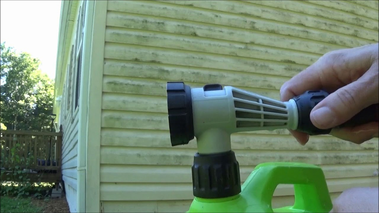 Cleaning Vinyl Siding Without Scrubbing Product Review