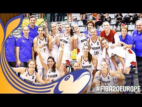 Russia v France - Full Game - 3rd Place - FIBA U20 Women's European Championship 2017