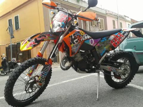 my ktm 125 exc story motocross enduro youtube. Black Bedroom Furniture Sets. Home Design Ideas