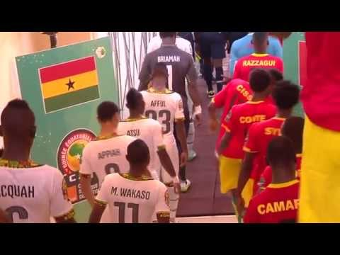 In the Tunnel before Ghana vs Guinea - Orange Africa Cup of Nations, EQUATORIAL GUINEA 2015