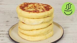 KOLAY Peynirli Bazlama KAHVALTILIK Bazlama Tarifi Tavada Ekmek Nas