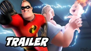 Incredibles 2 Teaser Trailer Breakdown - Justice League Avengers Parody Funny Moments
