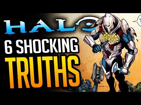 Top 6 SHOCKING Halo Lore Secrets (You Probably Didn't Know)