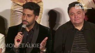 All Is Well Movie Promotions | Abhishek Bachchan, Asin, Rishi Kapoor, Supriya