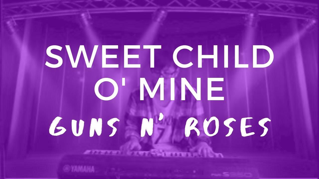 Sweet Child O' Mine - Guns N' Roses (Keyboard Cover) - YouTube