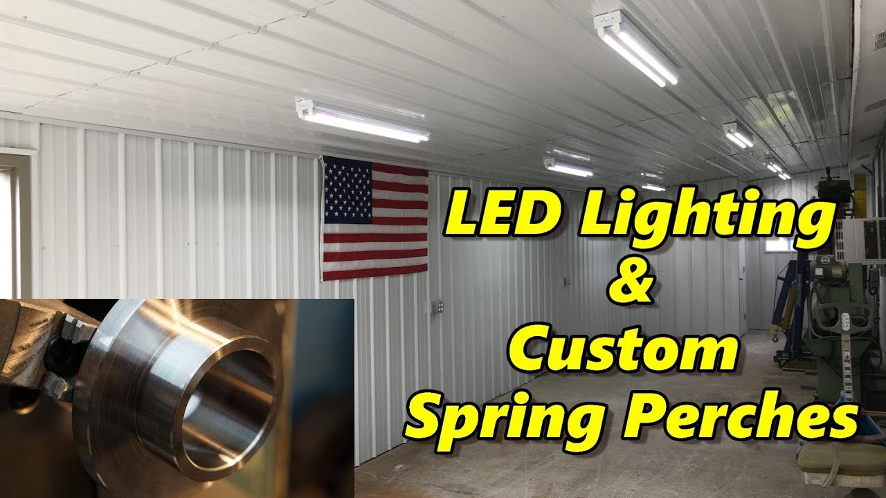 Do you already have led lighting inside the house part 1 come - Sns 189 Part 1 New Led Lighting Machining Custom Spring Perches