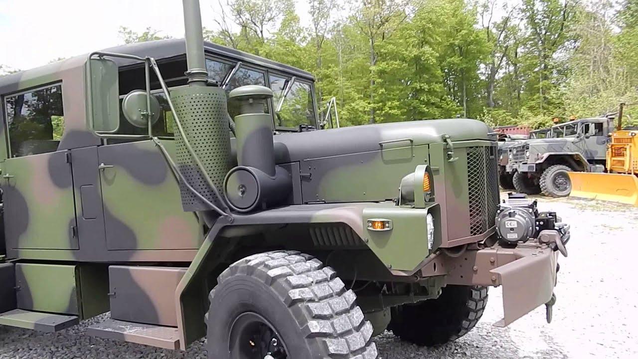 M35A3 Custom crew cab by C&C Equipment - YouTube