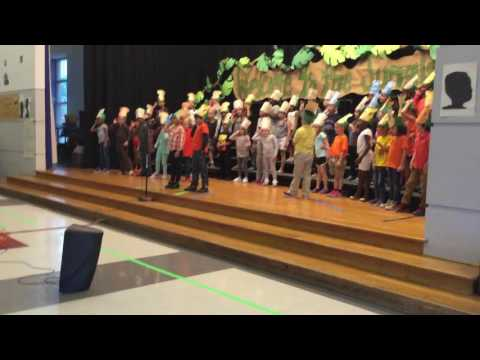 Syracuse Latin School 1st Grade Production of 'Welcome to the Jungle'