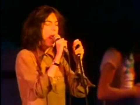 Patti Smith - We're Gonna Have A Real Good Time Together - 1976 - Stockholm