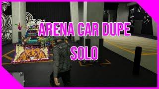 GTA 5 MONEY GLITCH - Arena car dupe SOLO