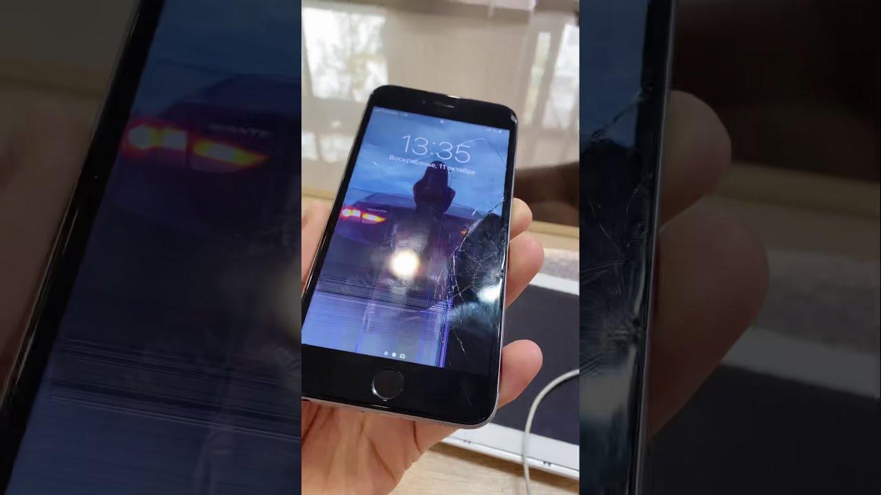 Заменить дисплей iPhone 6 в Тюмени