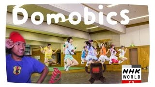 Japanese Domobics dance cover dari NHK World TV Contest dan menangk...