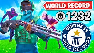 WORLD RECORD ZOMBIE HUNTER in Fortnite!