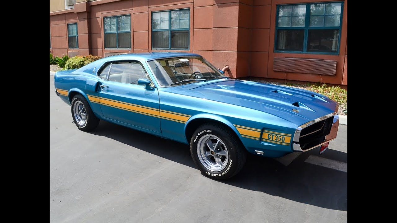 Sold 1969 Shelby Gt350 Fastback Coupe For Sale By Corvette