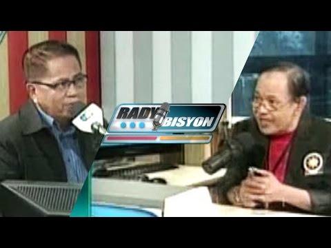 [RadyoBisyon] Guest: Dr. Westley Rosario (Episode 344) - [02|23|16]
