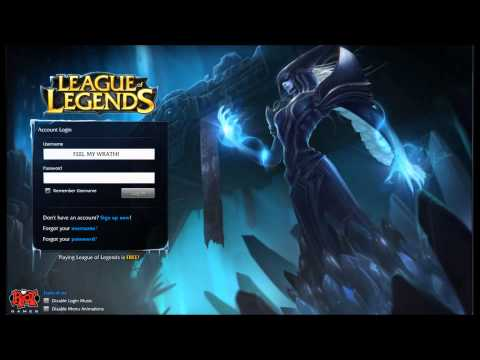 League of Legends Lissandra Login Screen + Music and Lore/Story