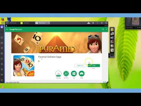 How to use Bluestacks app player to find a game