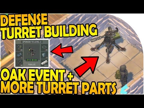DEFENSE TURRET BUILDING + MORE TURRET PARTS - Last Day On Earth Survival 1.7.9 Update