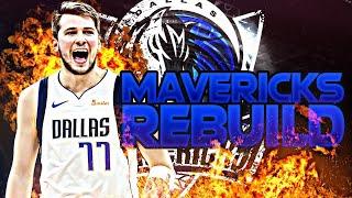 BLOWING UP THE MAVERICKS REBUILD! (NBA 2K20)