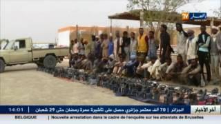 تمنراست : الجيش يوقف 41 مهربا و يحجز 1600 لتر من الوقود