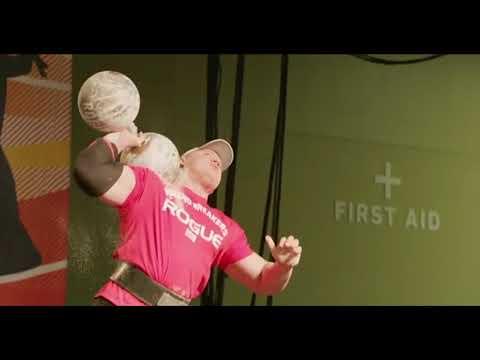 Cyr Dumbell World Record - 315lbs / 143kg - Mateusz Kieliszkowski