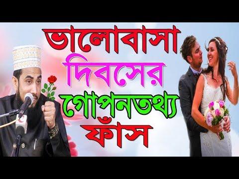 ভালোবাসা দিবসের গোপনতথ্য ফাঁস  Golam Rabbani Bangla Waz 2018 Islamic Waz Bogra