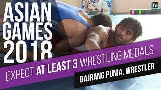'expect At Least 3 Wrestling Medals At Asian Games 2018', Says Cwg Gold Medallist Bajrang Punia