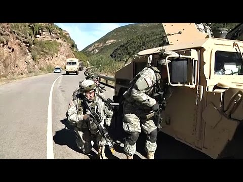 U.S. & South African Defense Force In Exercise