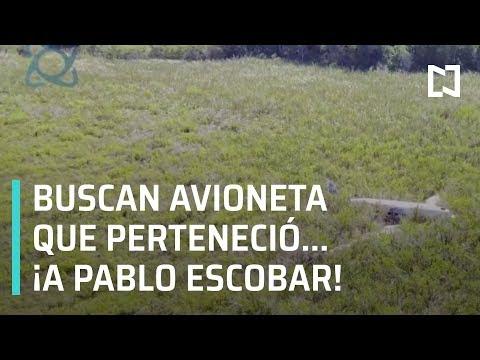 Buscan avioneta perdida de Pablo Escobar en Celestún, Yucatán - Las Noticias