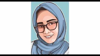 HOW TO DRAW SIMPLE VECTOR WITH CORELDRAW X7 NELLA KHARISMA