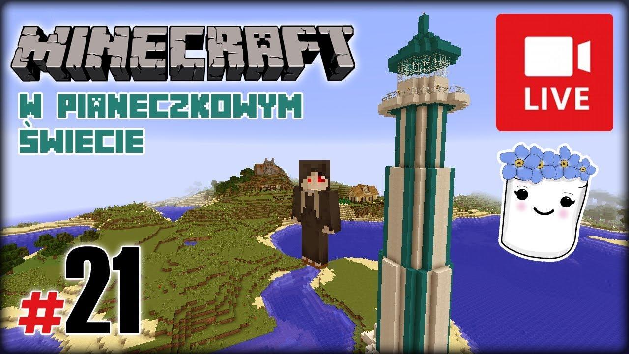 """[Archiwum] Live – Minecraft w Pianeczkowym świecie (12) – [2/2] – """"Owce zjadły konie"""""""