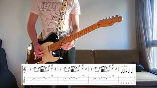 Jack White - Over And Over And Over Guitar cover with tabs