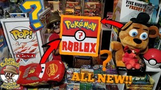 Opening The Worlds MOST Mysterious BIGGEST MYSTERY BOX Of POKEMON CARDS & TOYS? FNAF? ROBLOX? MBM#14