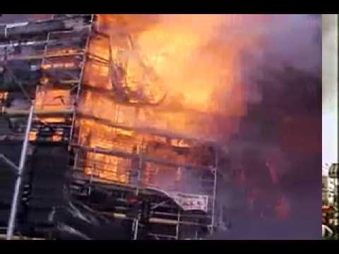 Santana Row Fire 2002