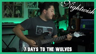 7 Days to the Wolves - Nightwish (Guitar Cover)