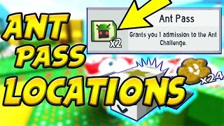 *ALL* NEW ANT PASS LOCATIONS | Roblox Bee Swarm Simulator