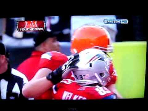 Crazy 2011 Probowl last second Touchdown!