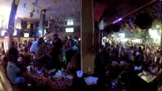 Khao San Road party in the street