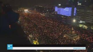 أكثر من مليون شخص كوري جنوبي يتظاهرون للمطالبة باستقالة رئيستهم