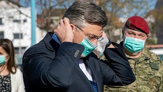 Coronavirus: 'There's no hardship in Croatia', says Prime Minister Plenkovic