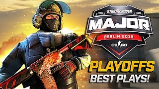 StarLadder CS:GO MAJOR 2019 PLAYOFFS - BEST PLAYS